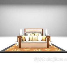 床的3d模型下载