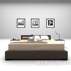 木制床大全3d模型下载