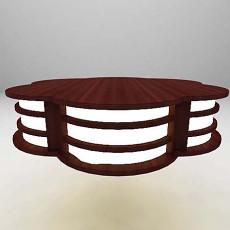木质灯3d模型下载