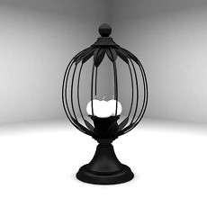 灯具摆设品3d模型下载