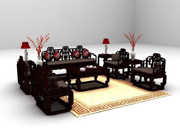 组合沙发3d模型下载推荐