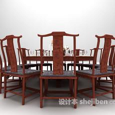大型圆桌3d模型下载
