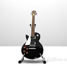 吉他3d模型下载