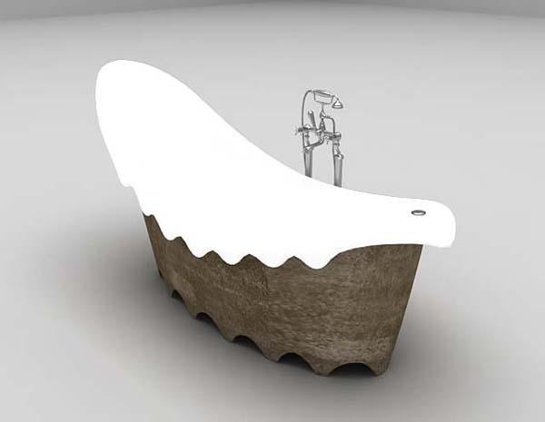 浴缸3d模型下载