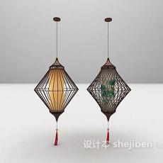 古典吊灯欣赏3d模型下载