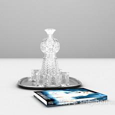 酒杯3d模型下载