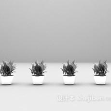 室内小盆景3d模型下载
