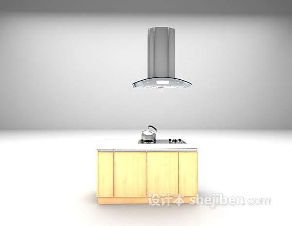 简约厨房用具3d模型下载