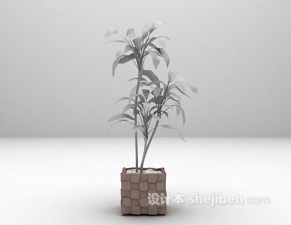 盆栽3d模型下载