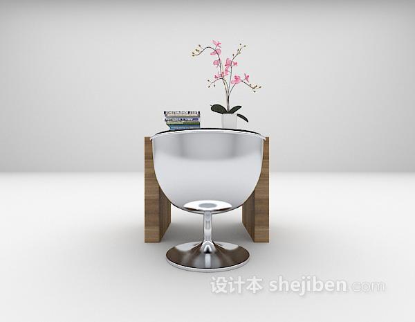 小型书桌3d模型下载