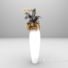 室内盆栽大全3d模型下载