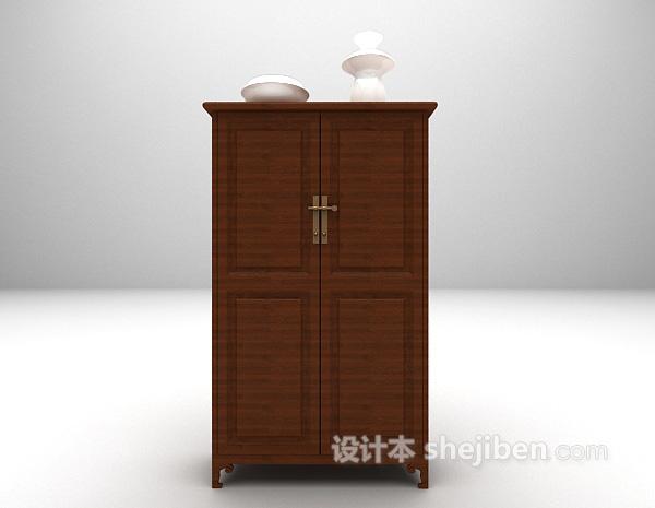 衣柜储存柜3d模型下载