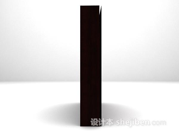 酒柜3d模型下载