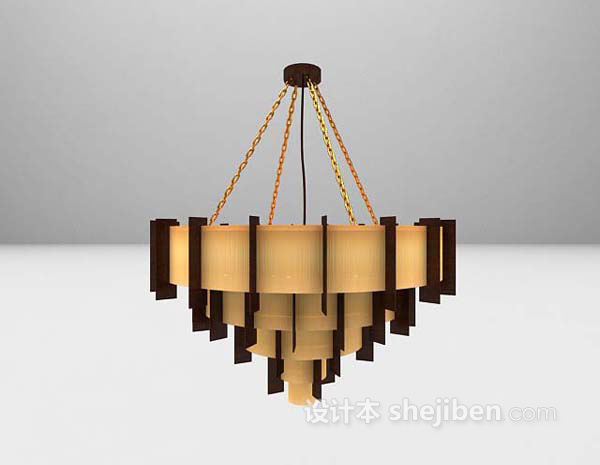 大型吊灯3d模型下载推荐