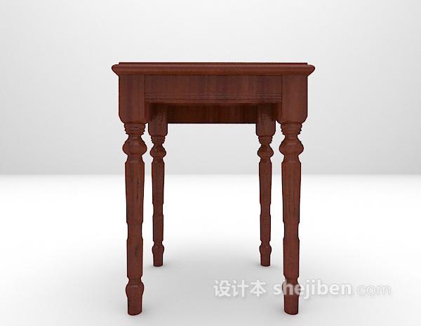 木质装饰架3d模型下载