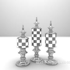 室内小饰品3d模型下载