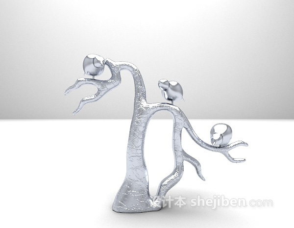装饰品3d模型