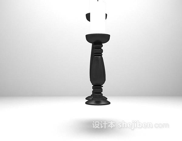 烛台3d模型下载