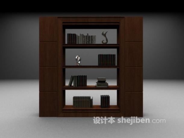 书架3d模型下载