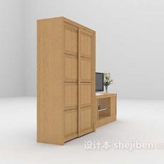 衣柜组合3d模型下载