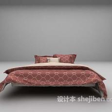 床具3d模型下载