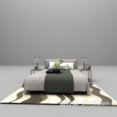 灰色床大全3d模型下载