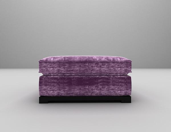 粉色单人沙发模型下载