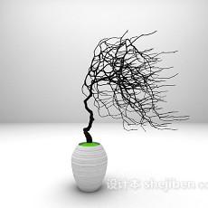 装饰树枝3d模型下载