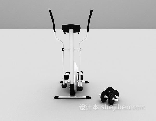 健身器材3d模型下载