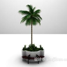 绿树3d模型下载