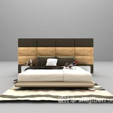 欧式床欣赏3d模型下载