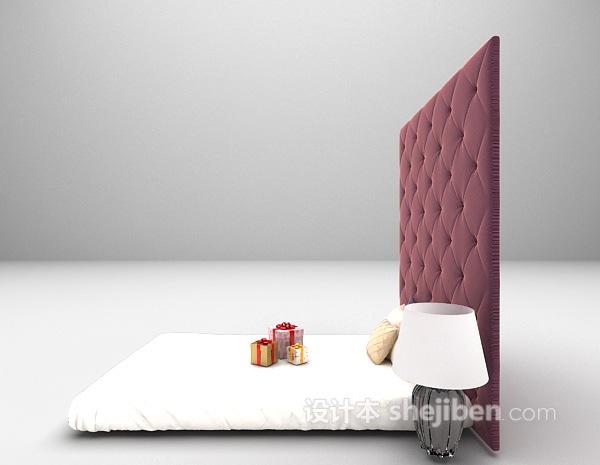 单人床3d模型下载推荐