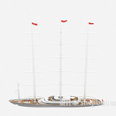 帆船免费3d模型下载
