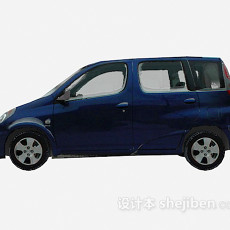 冬天小车 车3d模型下载