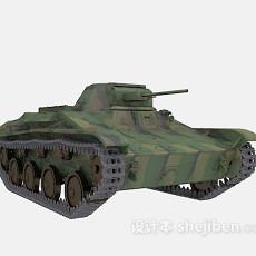 坦克武器免费3d模型下载