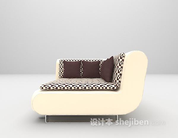 多人大型沙发3d模型下载