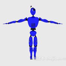 儿童机器人摆件3d模型下载