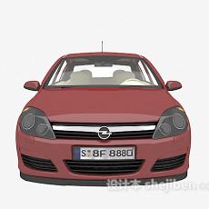 好的的红色汽车3d模型下载