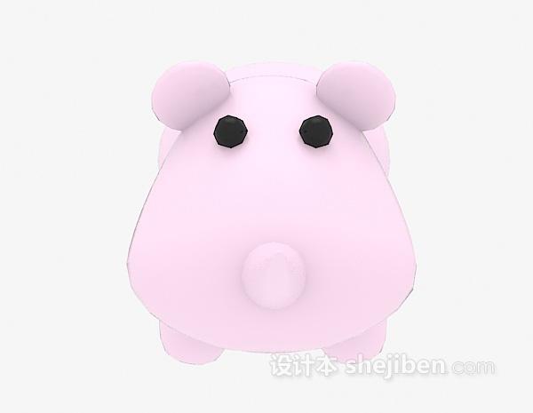 现代风格儿童玩具3d模型下载