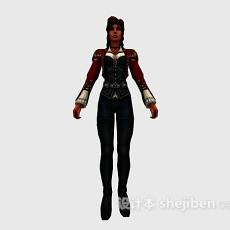 美女人物3d模型下载