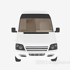 大巴车汽车3d模型下载