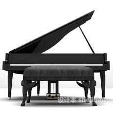 大钢琴3d模型下载