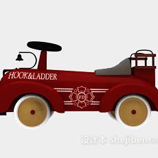 儿童玩具车3d模型下载