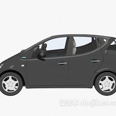 黑色max汽车3d模型下载
