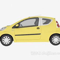 黄色车辆3d模型下载
