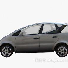 灰色小车车3d模型下载