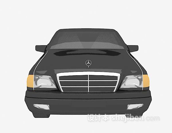 黑色车辆模型3d模型下载