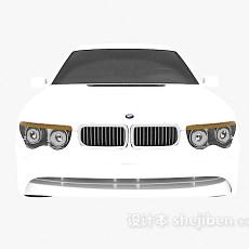 白色车的3d模型下载