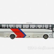 大巴车 车3d模型下载