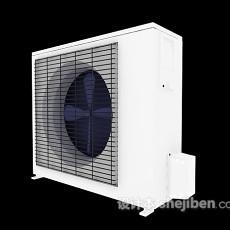 空调风口max3d模型下载